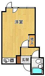 ティアラ宝塚[203号室]の間取り