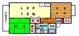 セジュール湊[2階]の間取り