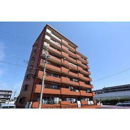 愛知県名古屋市守山区新守山の賃貸マンションの外観