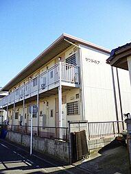 埼玉県草加市稲荷4丁目の賃貸アパートの外観