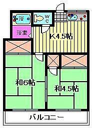 コーポ稲垣[103号室]の間取り
