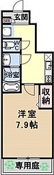 仮称)伏見小栗栖プロジェクト[101号室号室]の間取り