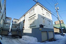 北海道札幌市西区発寒三条2丁目の賃貸アパートの外観
