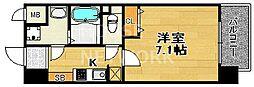 エスライズ京都河原町[301号室号室]の間取り