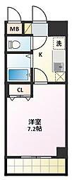 KII-OKASAN B.二番館[4階]の間取り