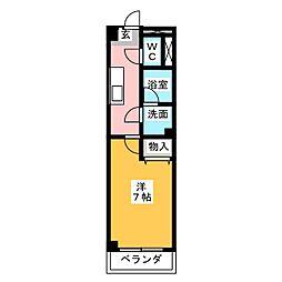 サンライズ文京[3階]の間取り