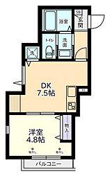 メゾン杉並[2階]の間取り