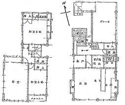 [一戸建] 広島県広島市佐伯区薬師が丘2丁目 の賃貸【/】の間取り