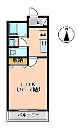 マンション大洋2[A-8号室 号室]の間取り