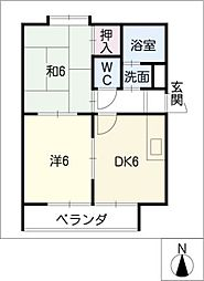 第8渡邊ビル[5階]の間取り