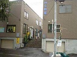 北海道札幌市豊平区平岸四条12丁目の賃貸アパートの外観