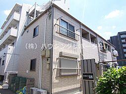 東京都八王子市新町の賃貸アパートの外観