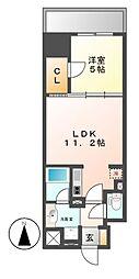 ダイワシティー大須[10階]の間取り