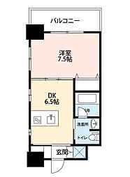ジューム神山[7階]の間取り