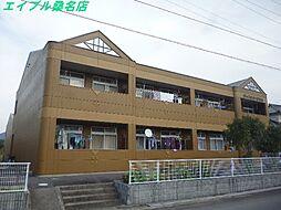 三重県いなべ市北勢町阿下喜の賃貸アパートの外観