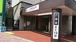都営地下鉄大江戸線中野坂上駅