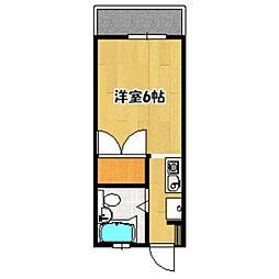 ミールハイツ[102号室]の間取り