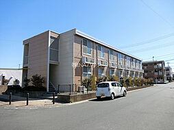 埼玉県北足立郡伊奈町内宿台4丁目の賃貸アパートの外観