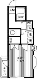 リバーストーンプラザ[1階]の間取り