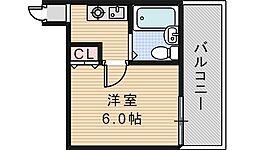 サンハイツ昭和町[5階]の間取り