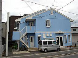 京都府京都市西京区桂上野中町の賃貸アパートの外観