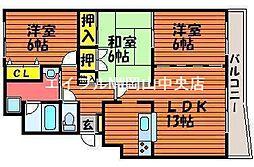 Y・Y西坂[3階]の間取り