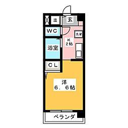 エトワール神宮[3階]の間取り
