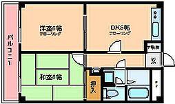 ソレーユ西川口[4階]の間取り