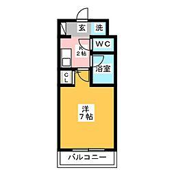 ラオム21[1階]の間取り
