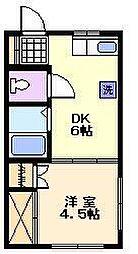 エクセル瀬戸[3階]の間取り
