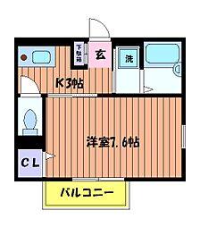 グリーンマーサ[2階]の間取り