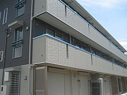 神奈川県横浜市緑区竹山1丁目の賃貸アパートの外観