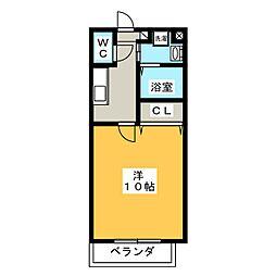 PLEA[2階]の間取り