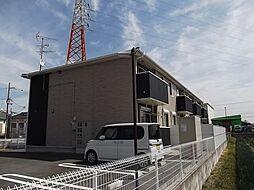 京都府京都市伏見区横大路畔ノ内の賃貸アパートの外観