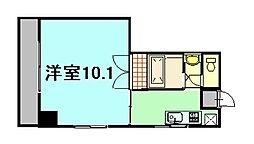 グレイス横田[6階]の間取り