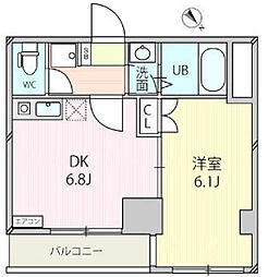 ジェクトワン相模原ビル[5階]の間取り