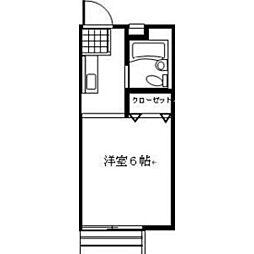 誠心ハイツ[2階]の間取り