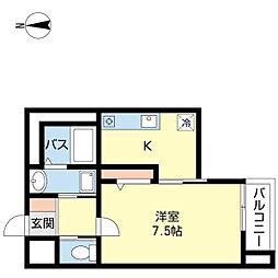 新潟県新潟市中央区古町通6番町の賃貸マンションの間取り