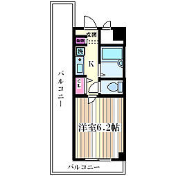 リーガル塚本II[901号室]の間取り