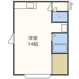 サンホームマンション16番館[3階]の間取り