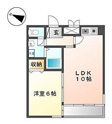 オゾックハウス[3階]の間取り