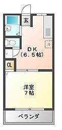 WITHセルティア[2階]の間取り