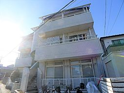 埼玉県越谷市大字恩間の賃貸アパートの外観