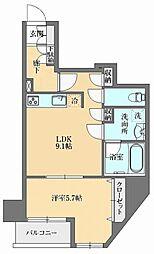 GRAN PASEO本郷三丁目(グランパセオ本郷三丁目) 8階1LDKの間取り