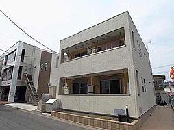 千葉県松戸市常盤平5丁目の賃貸アパートの外観