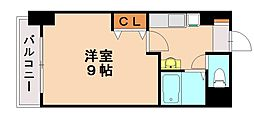 ニュー蛍雪芙蓉館[5階]の間取り