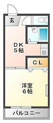 田中隆ビル[3階]の間取り