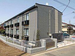 千葉県松戸市八ヶ崎3丁目の賃貸アパートの外観