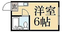 エクシードKG[2階]の間取り