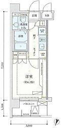 リヴシティ横濱弘明寺[6階]の間取り